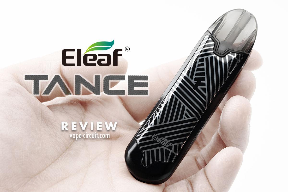 Eleaf TANCE レビュー