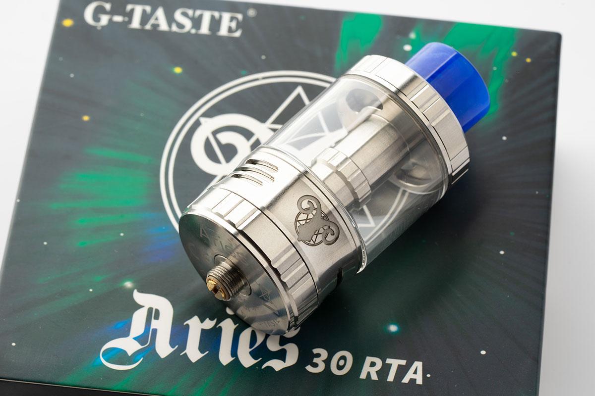 G-TASTE Aries 30 RTA レビュー