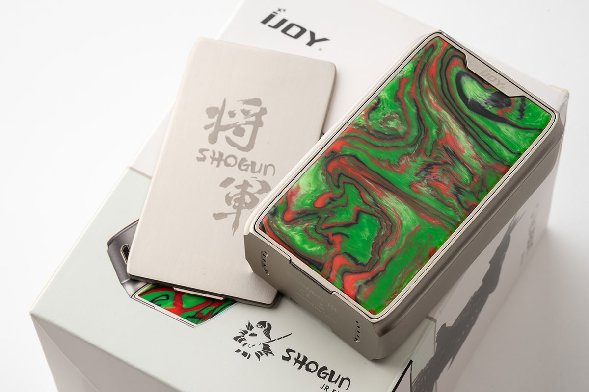 ijoy SHOGUN JR レビュー