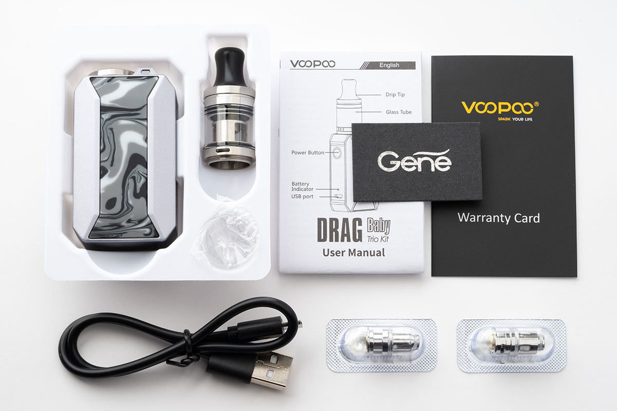 VOOPOO DRAG Baby Trio Kit レビュー