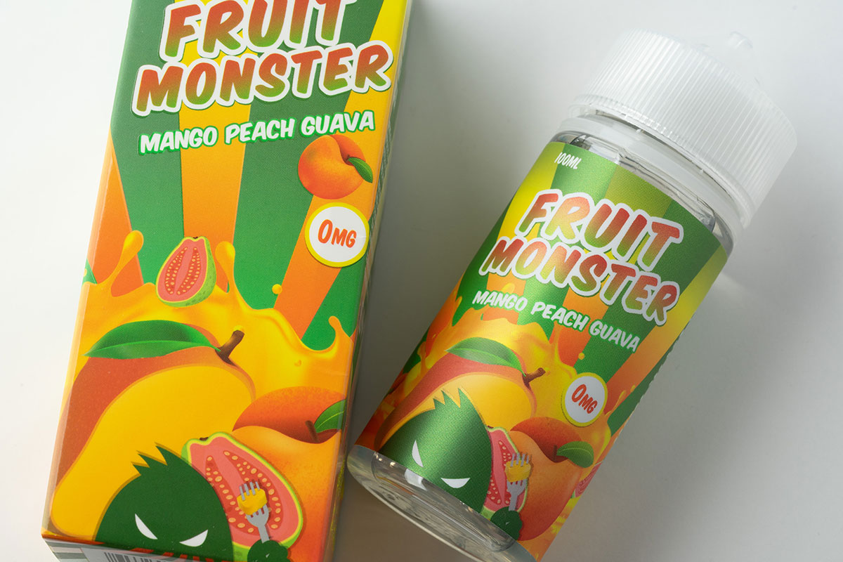 Fruit Monster MANGO PEACH GUAVA レビュー