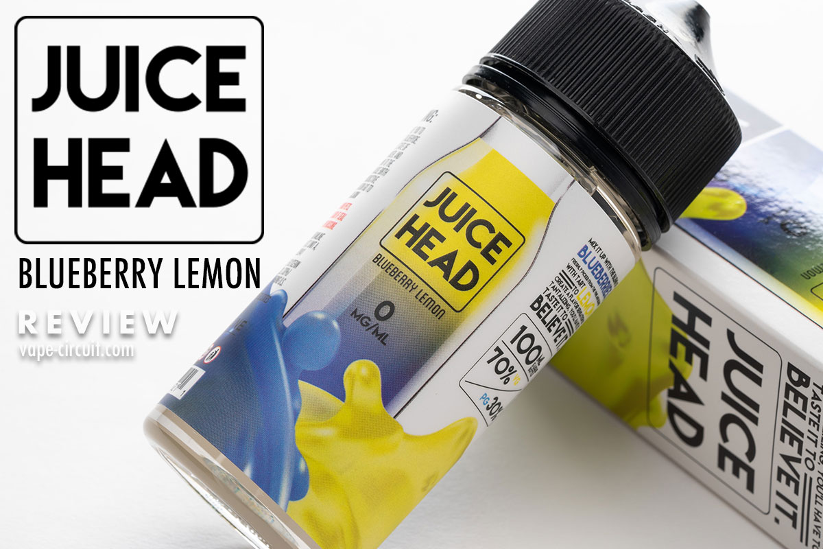 JUICEHEAD Blueberry Lemon レビュー
