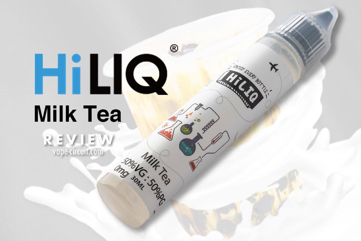 HiLIQ ミルクティー Milk Tea レビュー