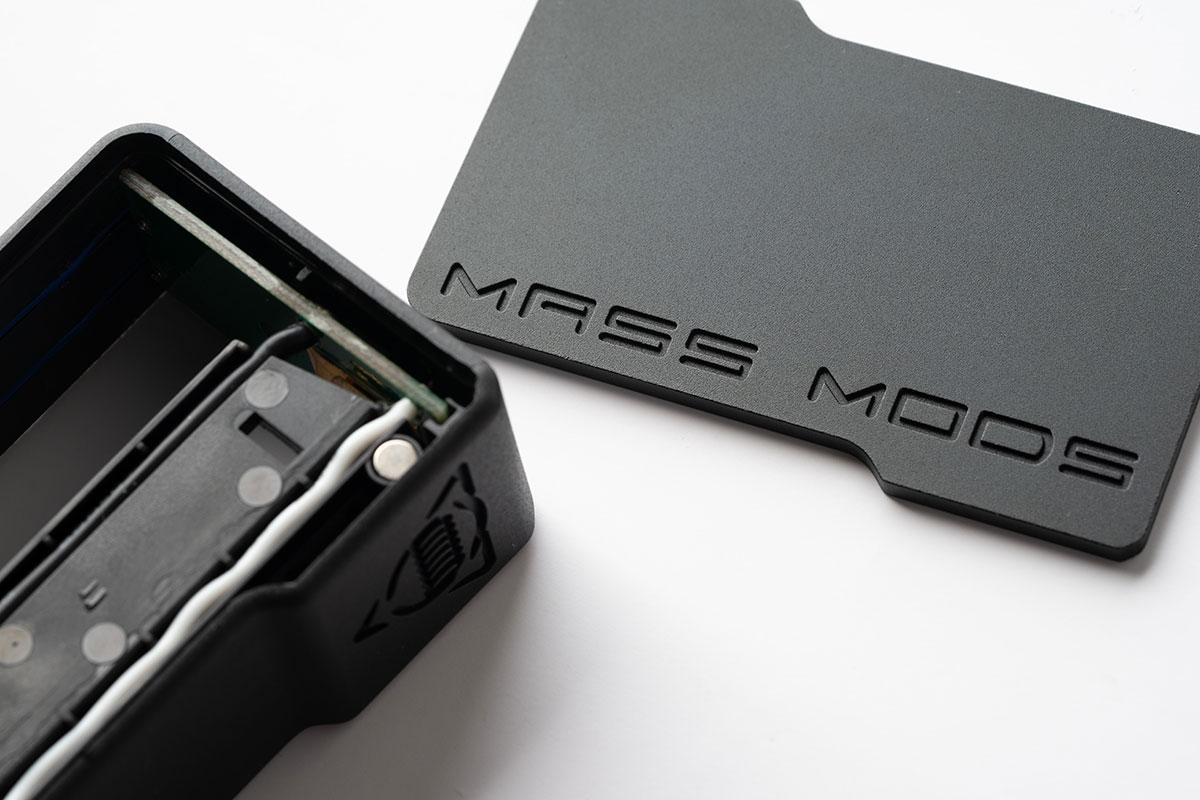 Augvape & MASS MODS S2 Squonk Mod レビュー