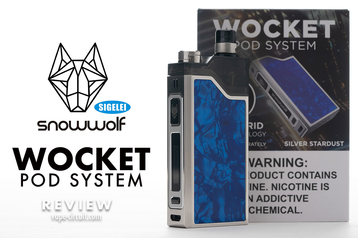 Snowwolf WOCKET レビュー