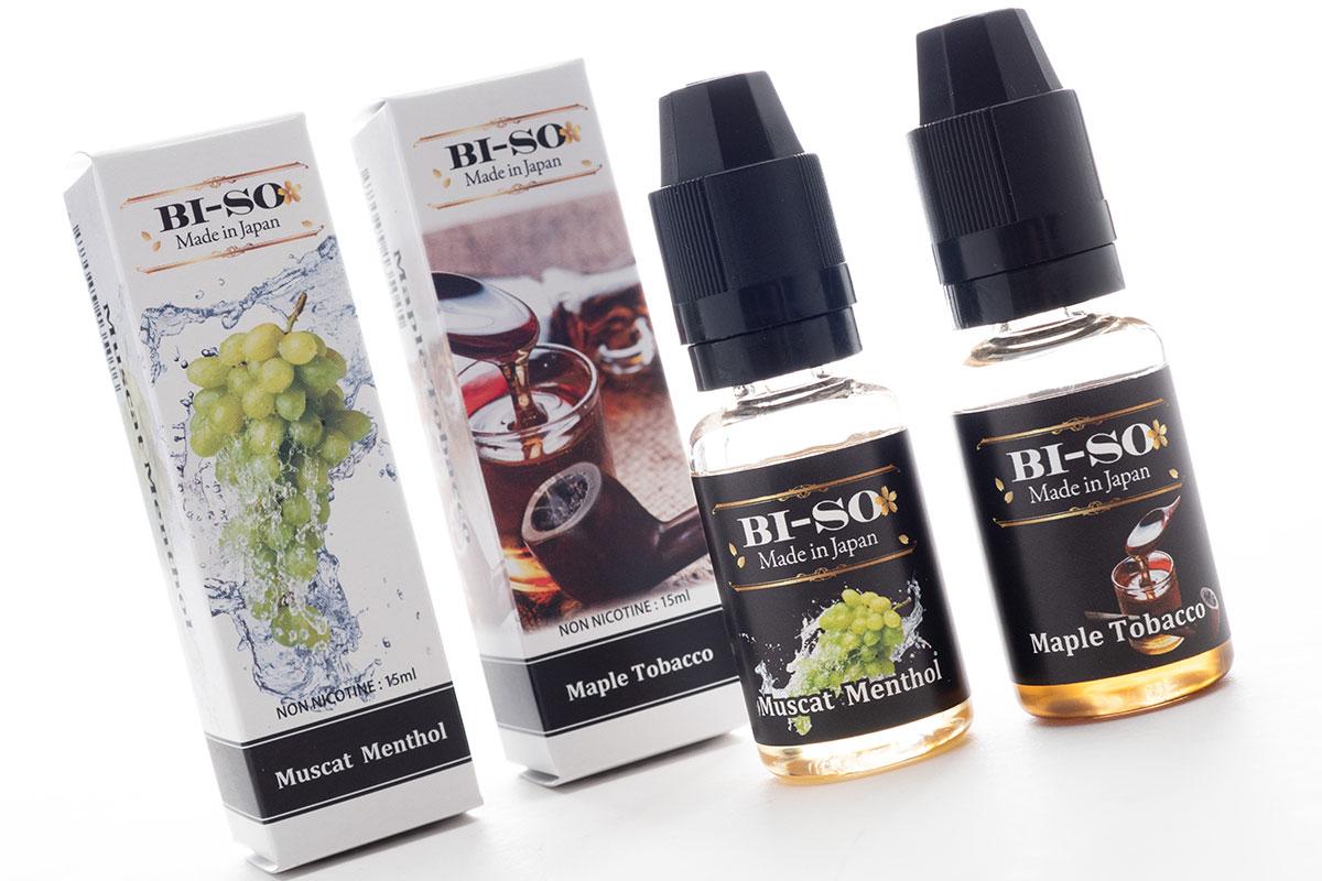 BI-SO新フレーバーレビュー|メープルタバコとマスカットメンソールが新発売!