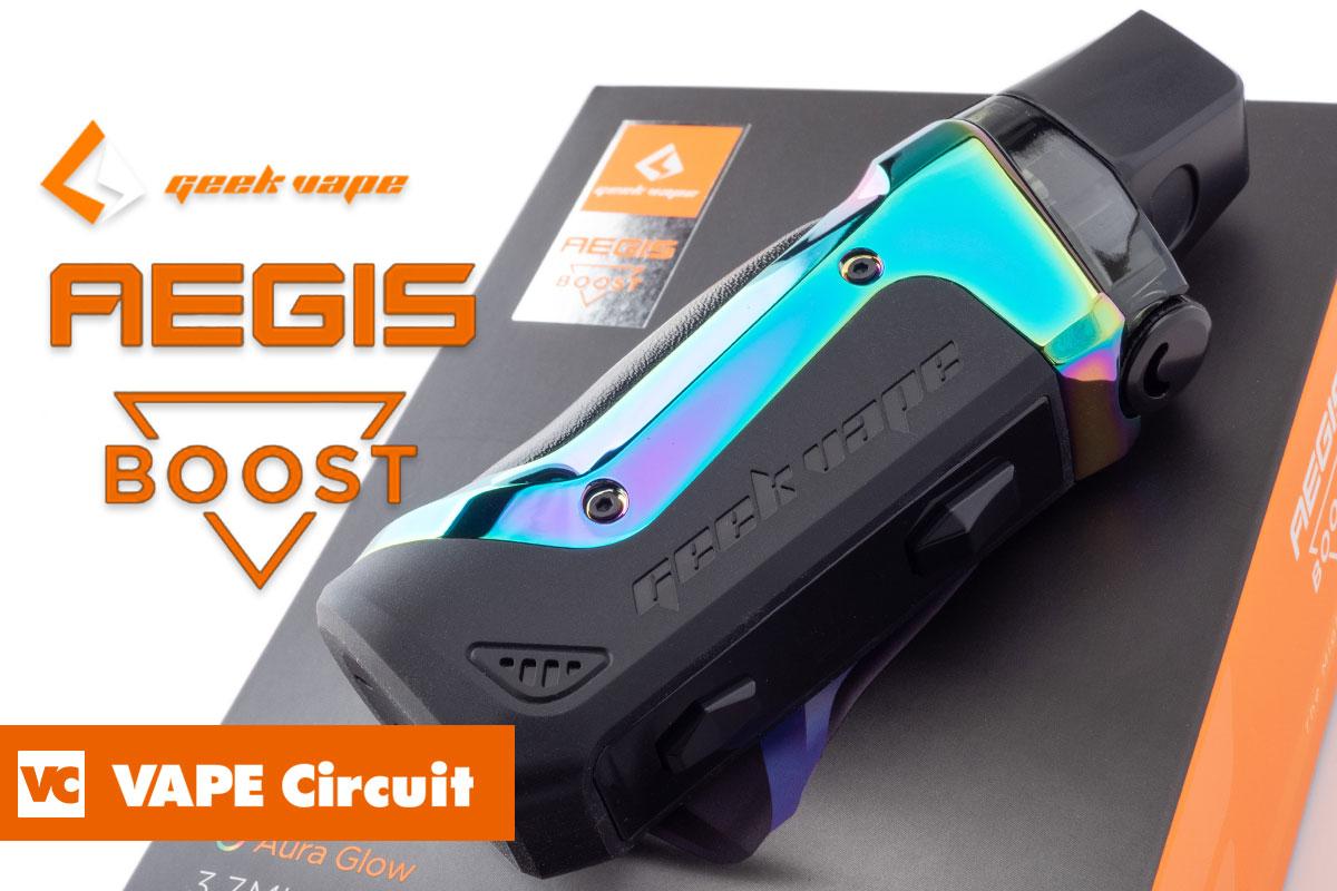 geek vape AEGIS BOOST レビュー