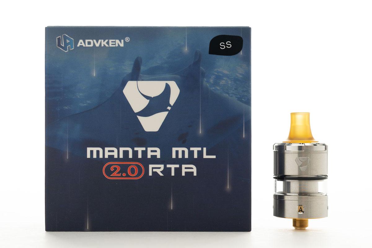 ADVKEN MANTA MTL 2.0 RTA レビュー