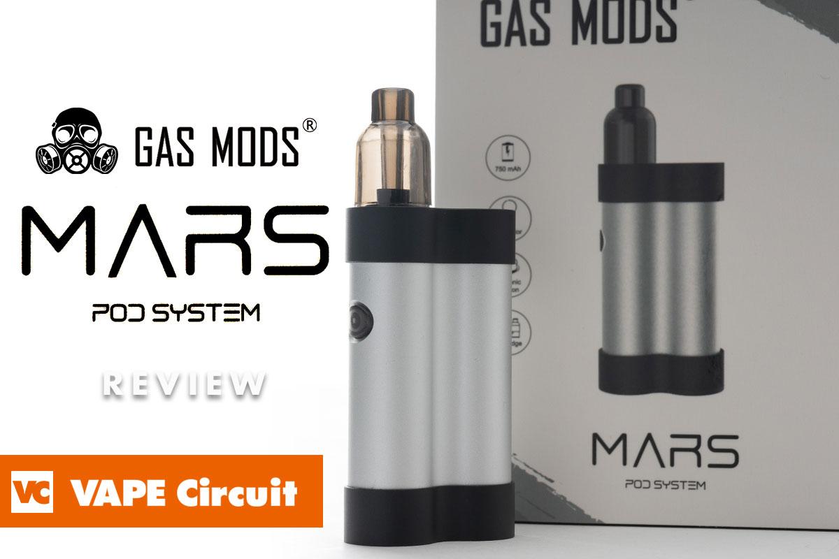 GAS MODS MARS レビュー