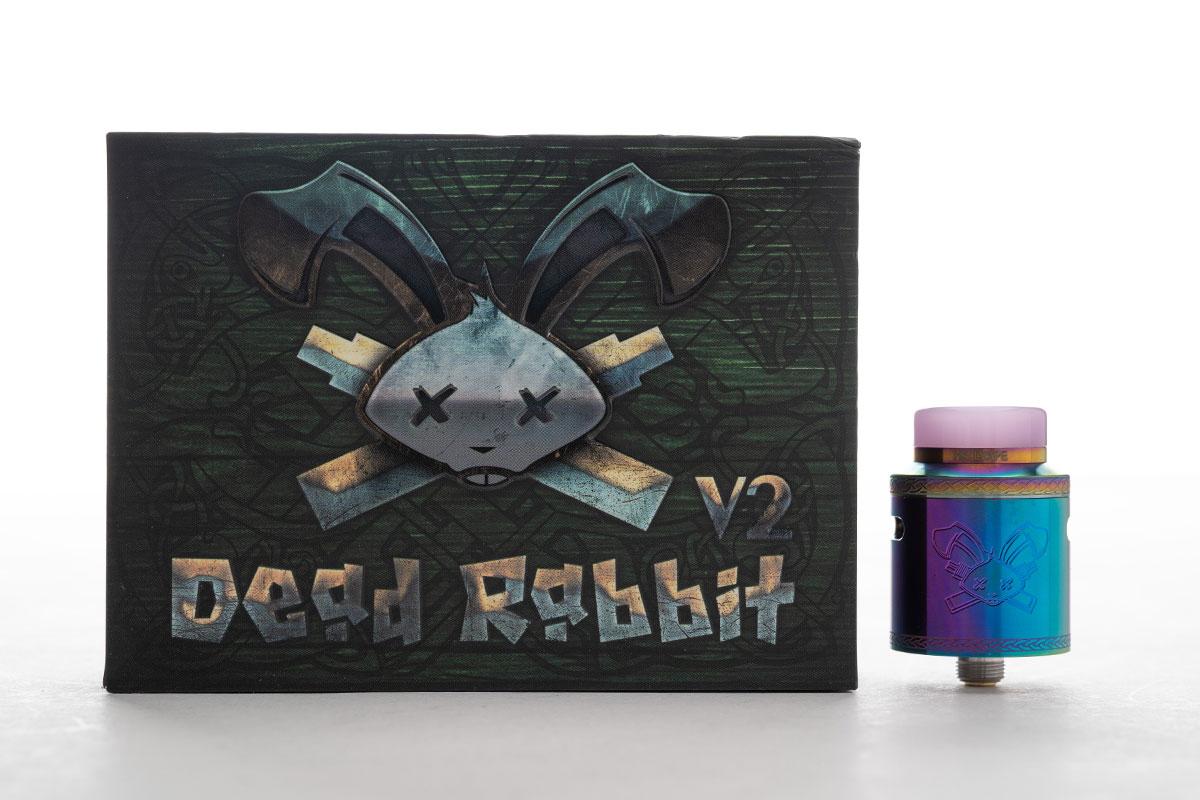 Hellvape Dead Rabbit V2 RDA レビュー
