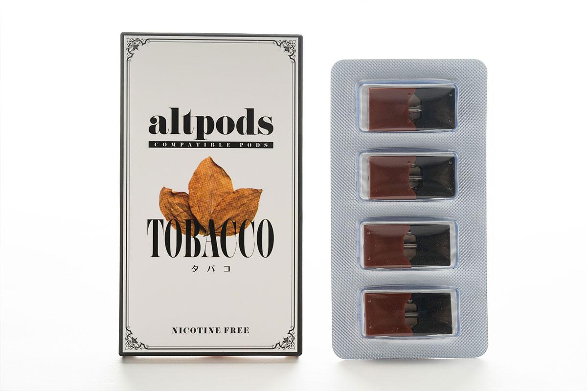 altpods TOBACCO(タバコ)のレビュー