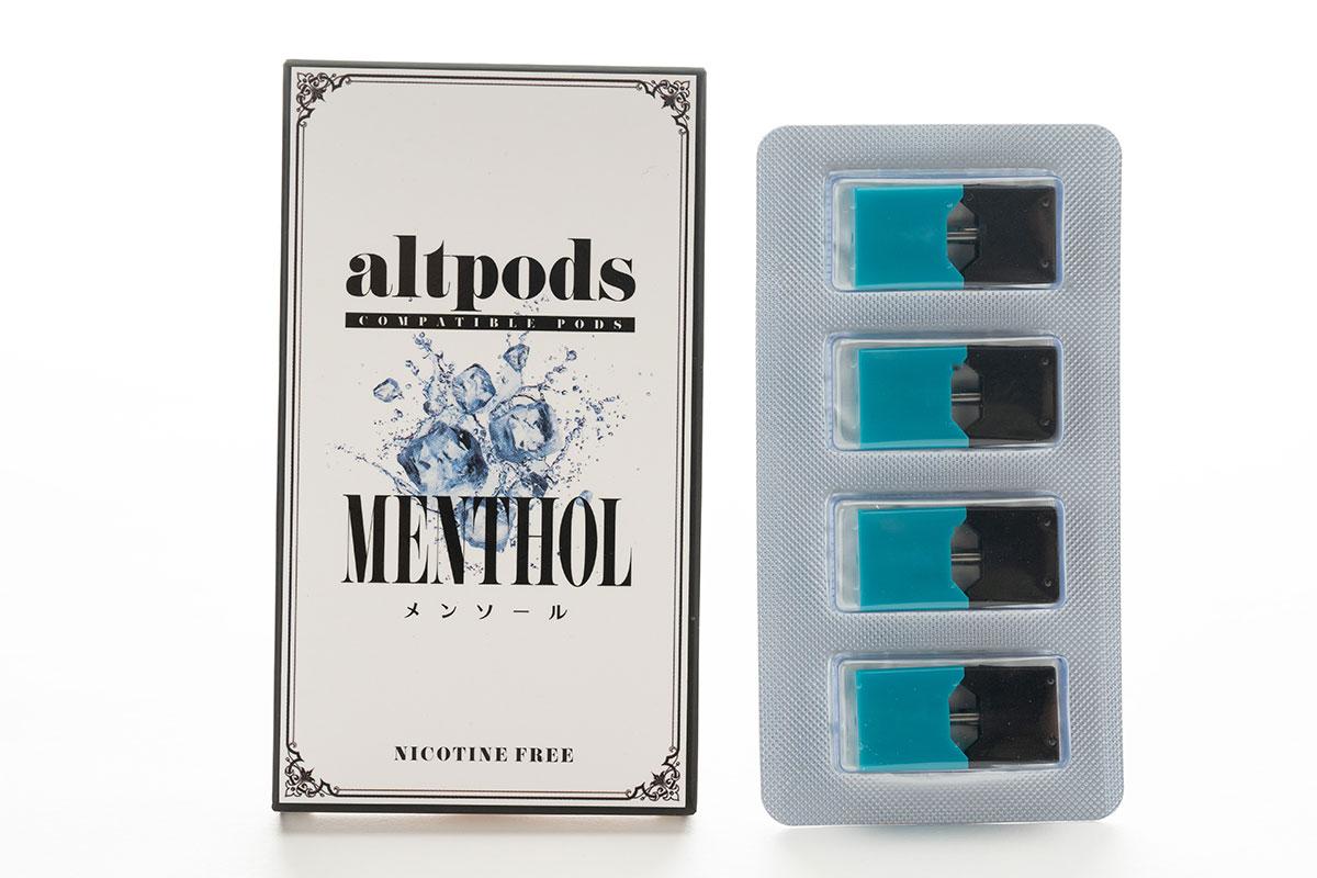 altpods MENTHOL(メンソール)のレビュー