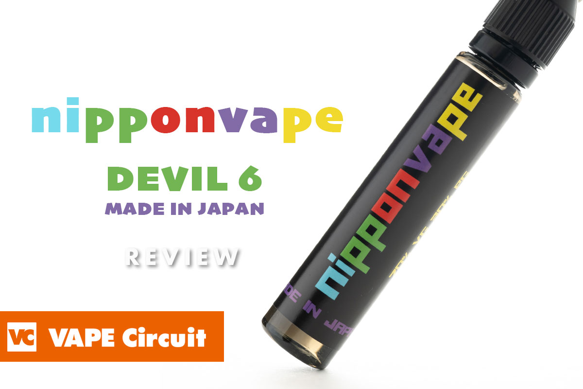 nipponvape DEVIL6 レビュー