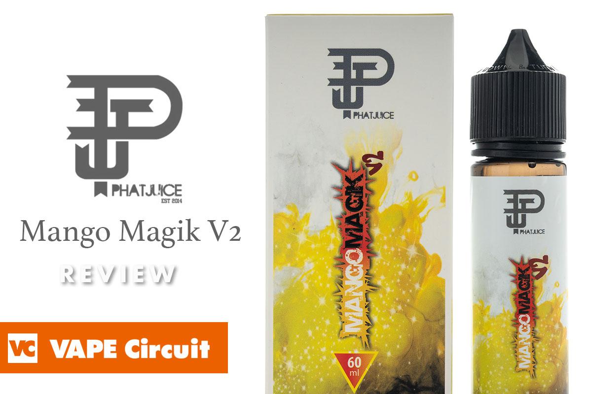PHATJUICE Mango magik V2 レビュー