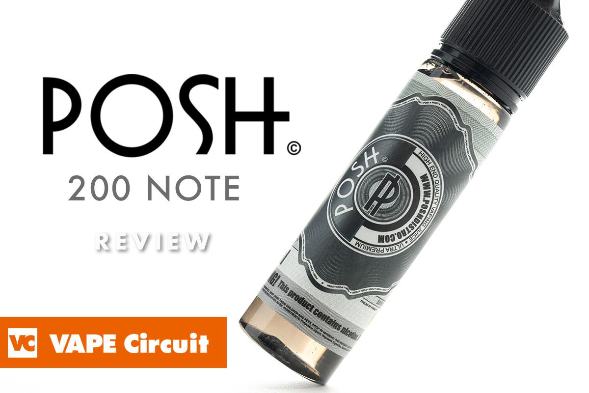 POSH BREWS 200NOTE レビュー
