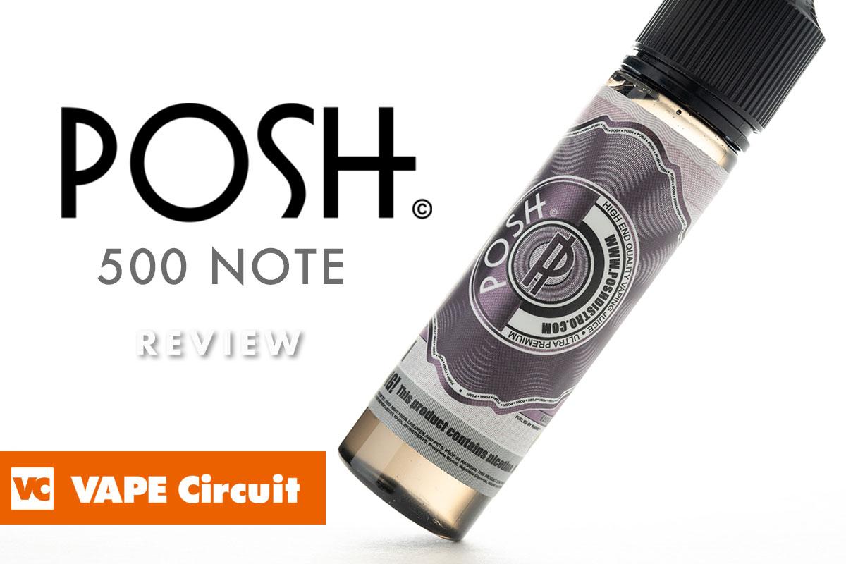 POSH BREWS 500NOTE レビュー