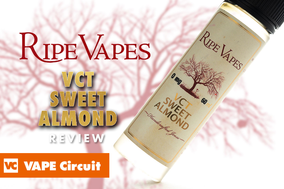 RIPE VAPES VCT SWEET ALMOND レビュー