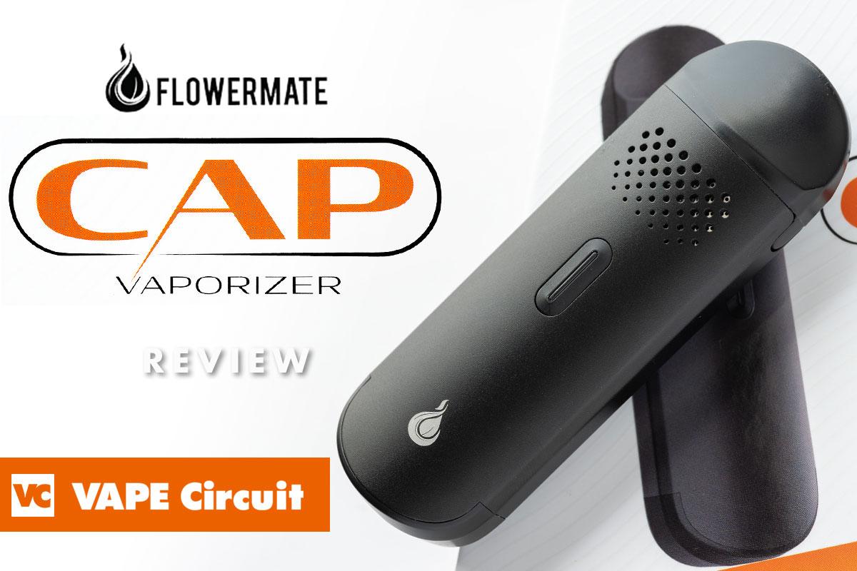 FLOWERMATE CAP レビュー 超コンパクトなのに本格的!手のひらサイズのヴェポライザー!