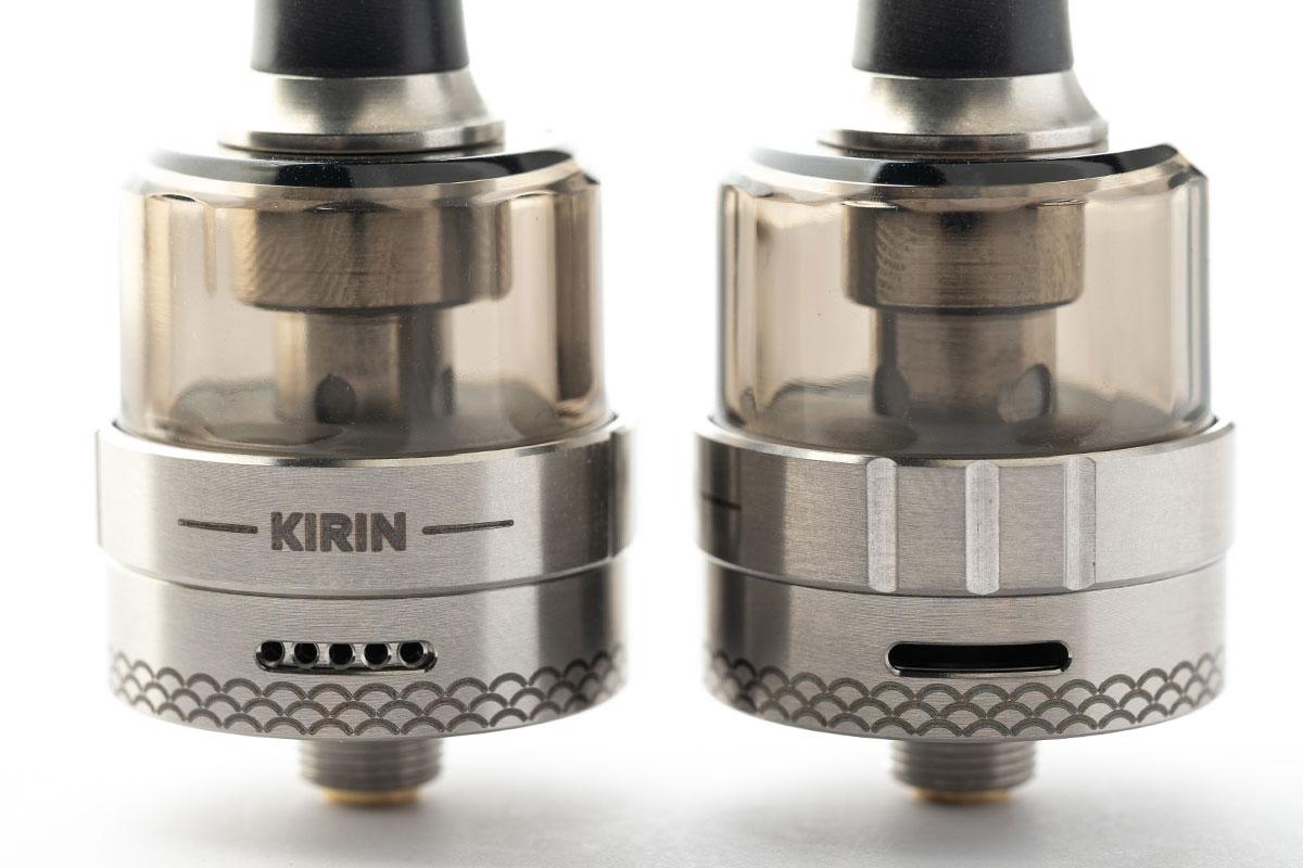 KIZOKU Kirin MTL Disposable Tank レビュー 新発想のパーツ分離!使い捨てタンク!