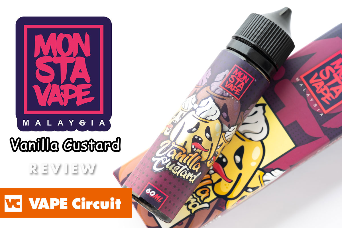 MONSTA VAPE Vanilla Custard レビュー
