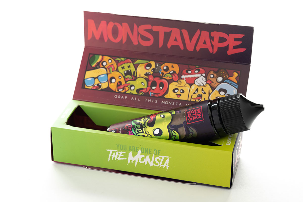 MONSTA VAPE Zesty Grappy with mint レビュー