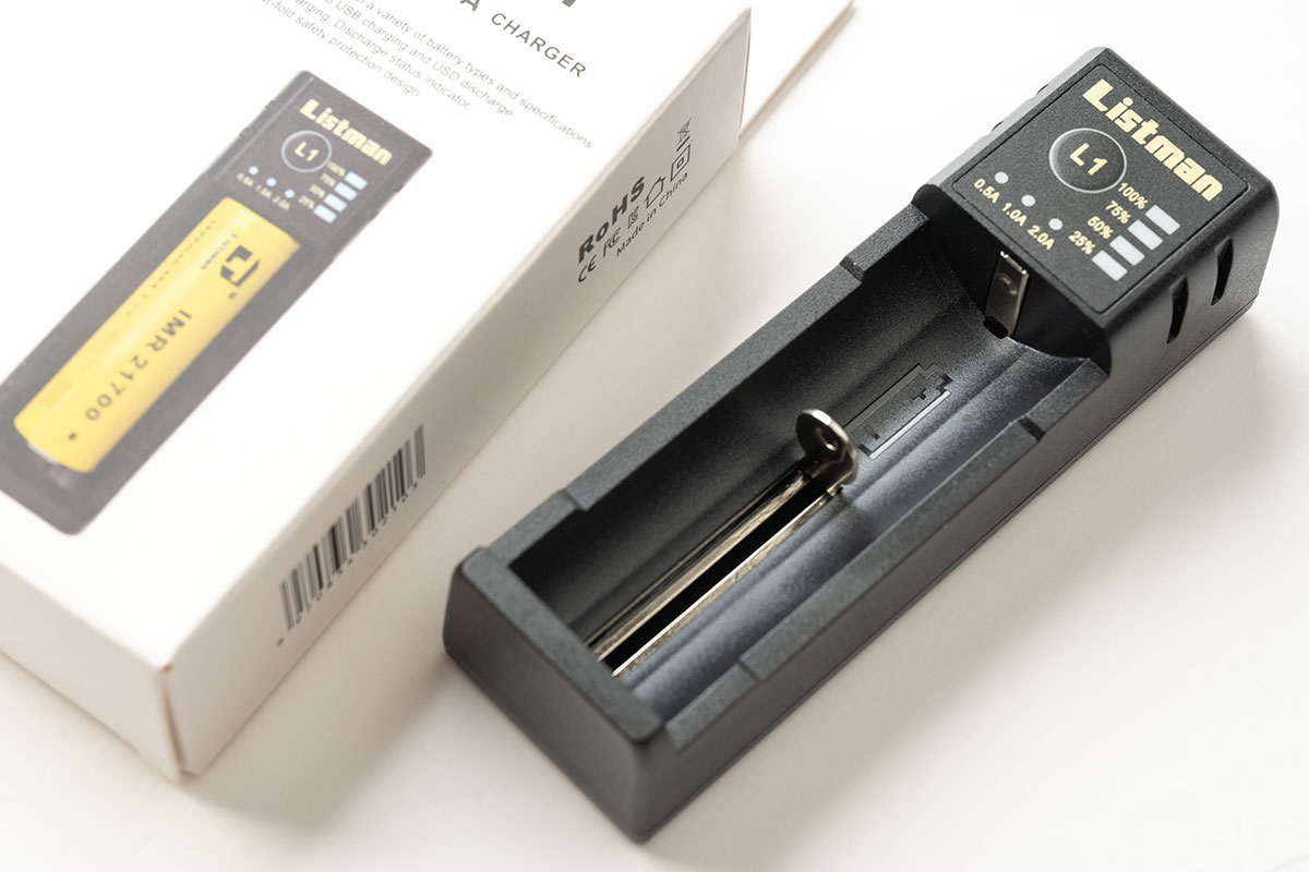 Listman L1 2A CHARGER レビュー