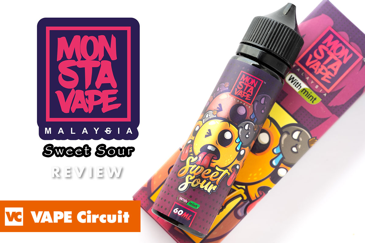 MONSTA VAPE Sweet Sour with mint(モンスタベイプ スウィートサワー ウィズミント) レビュー