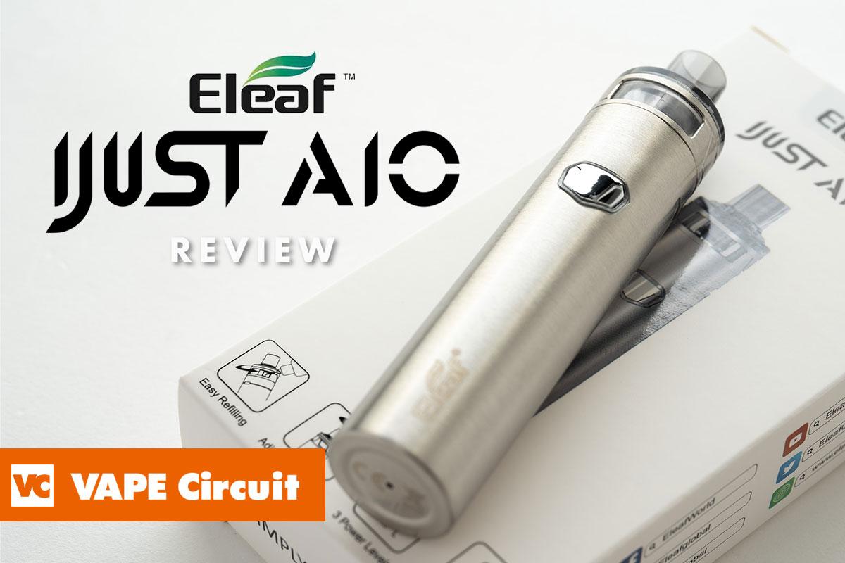 Eleaf iJust AIO(イーリーフ アイジャストエーアイオー)レビュー