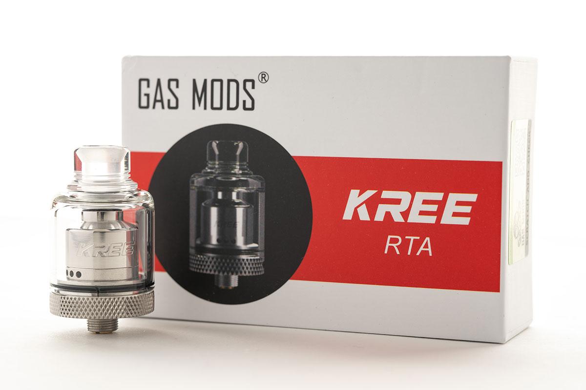 GAS MODS KREE RTA(ガスモッズ クリー タンク)レビュー