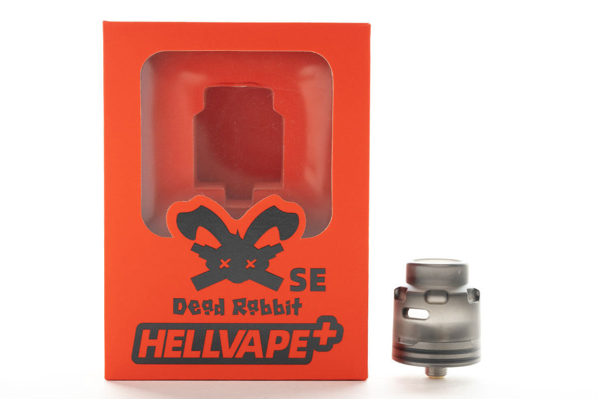 Hellvape Dead Rabbit SE RDA(ヘルベイプ デッドラビット エスイー ドリッパー)レビュー