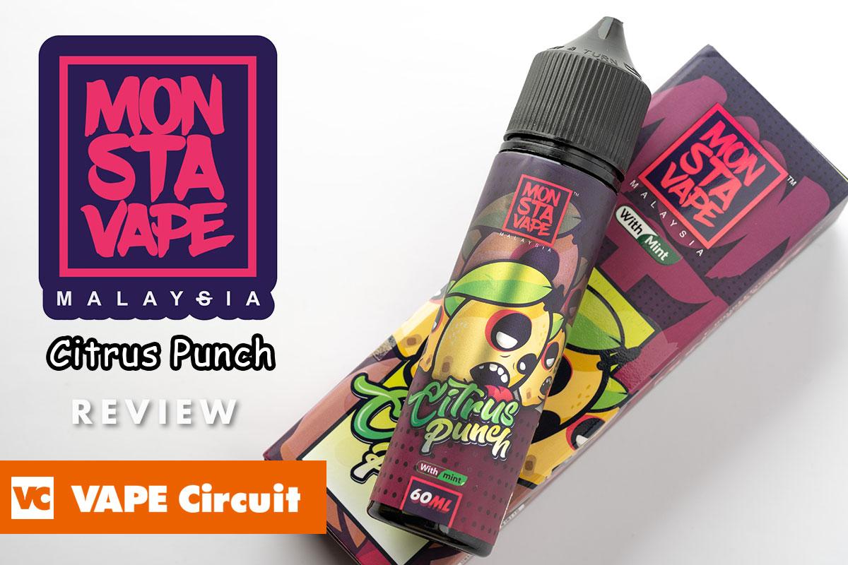 MONSTA VAPE Citrus Punch(モンスタベイプ シトラスパンチ)レビュー