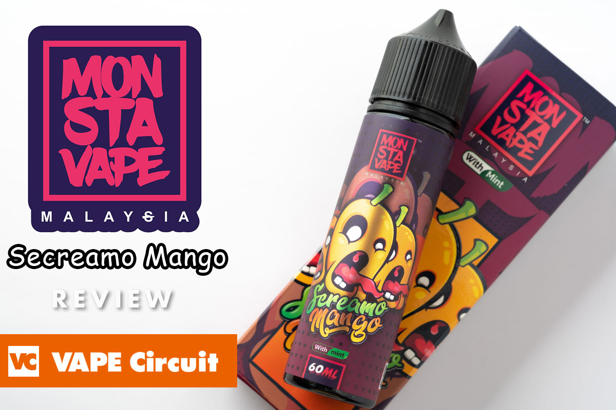 MONSTA VAPE Secreamo Mango(モンスタベイプ スクリーモマンゴー)レビュー