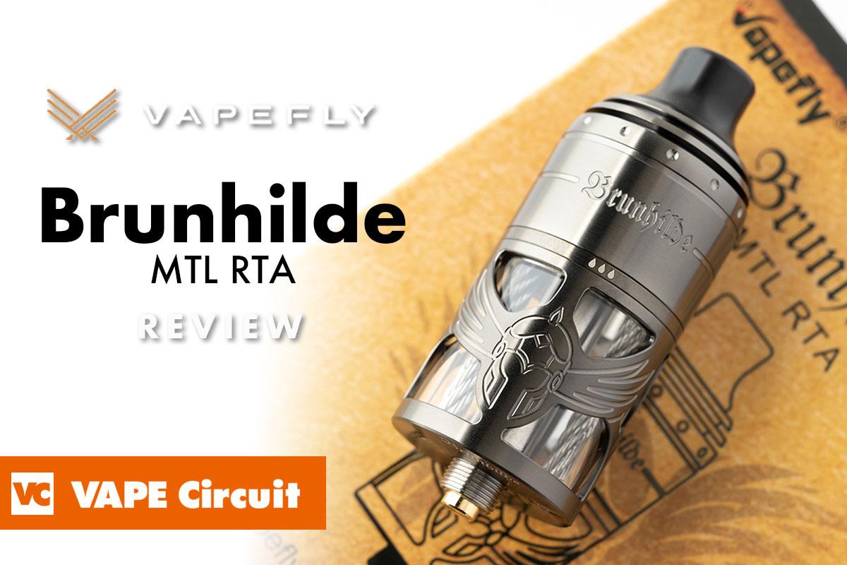 vapefly Brunhilde MTL RTA(ベイプフライ ブリュンヒルデ エムティーエル タンク)レビュー