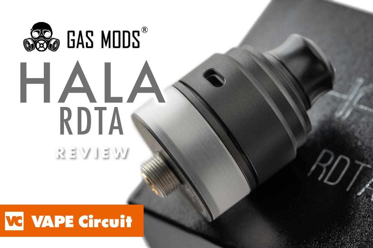 GAS MODS HALA RTDA(ガスモッズ ハラ アルディーティーエー)レビュー
