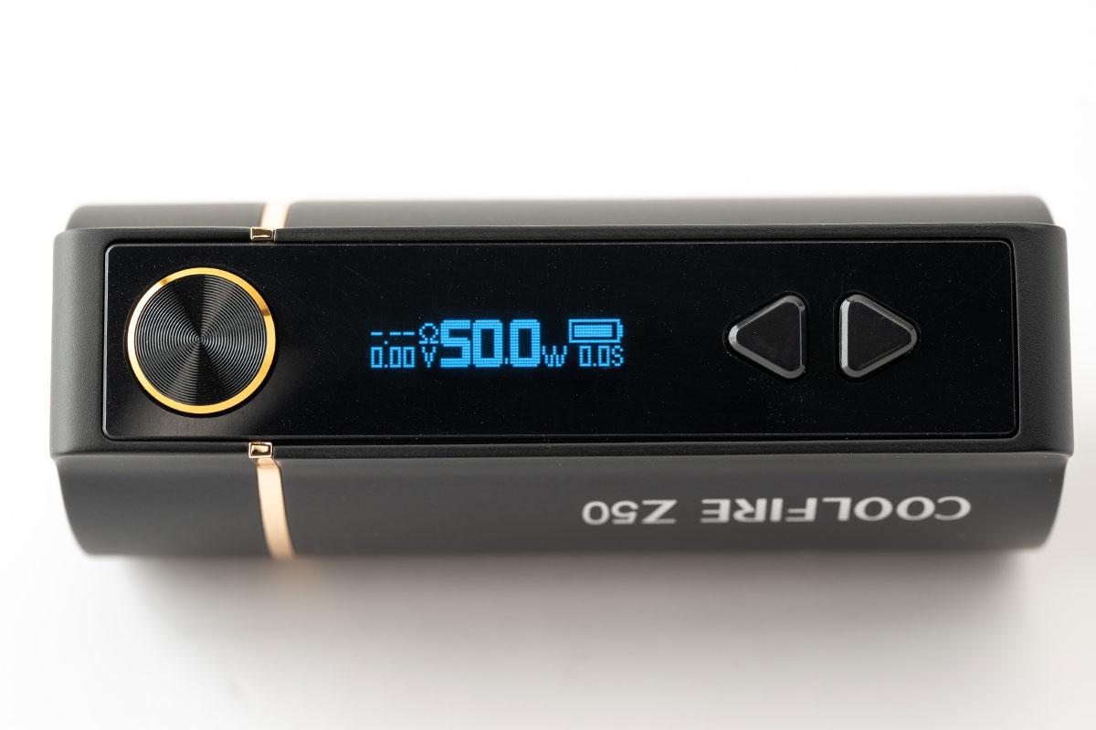 INNOKIN COOL FIRE Z50(イノキン クールファイアー ゼット50)レビュー