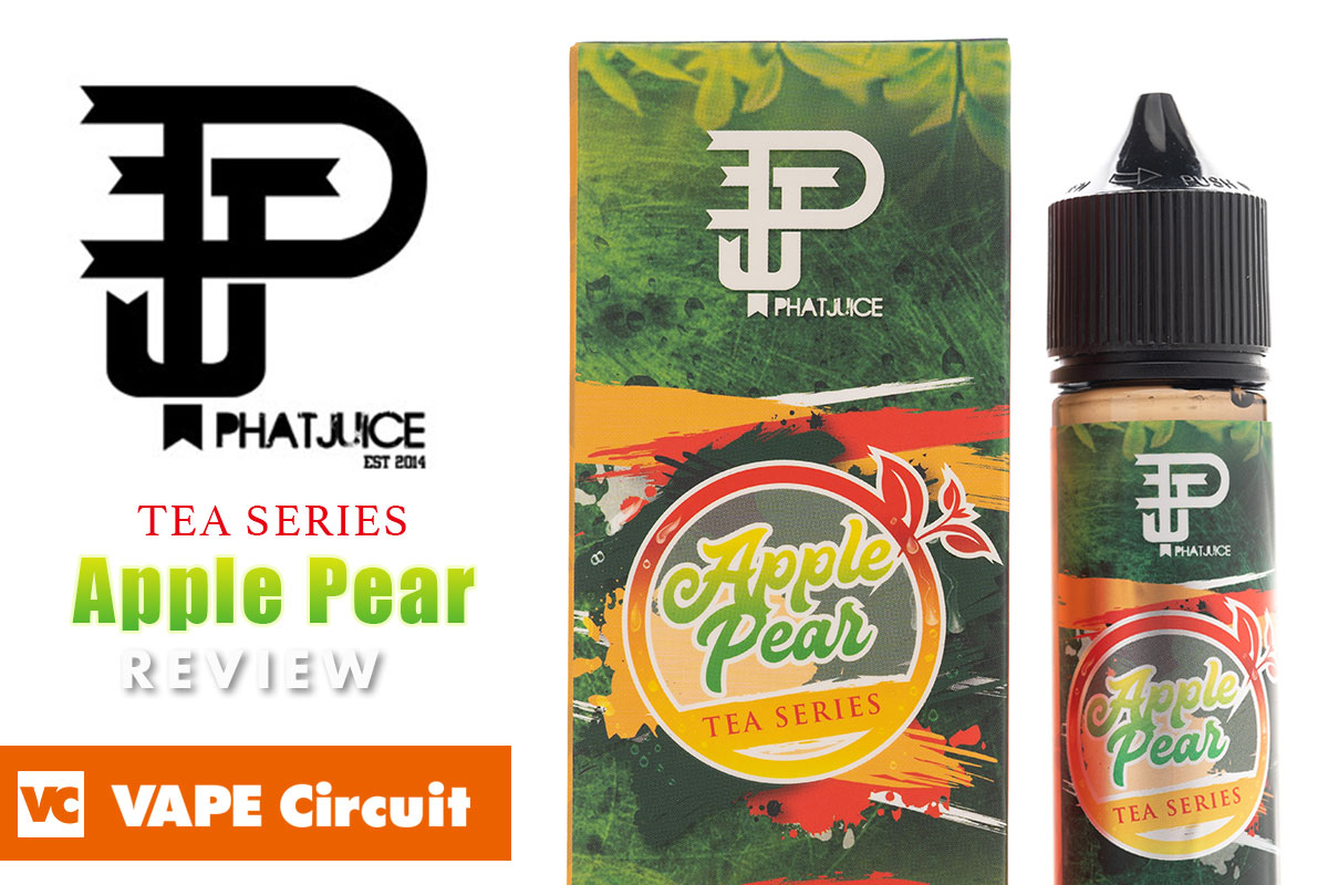 PHATJUICE Apple Pear Tea(ファットジュース アップルペアティー)レビュー