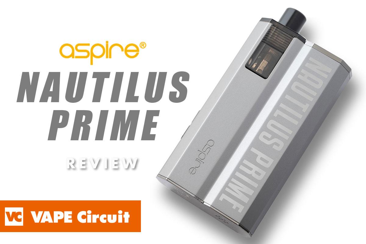 aspire Nautilus Prime(アスパイア ノーチラスプライム)レビュー