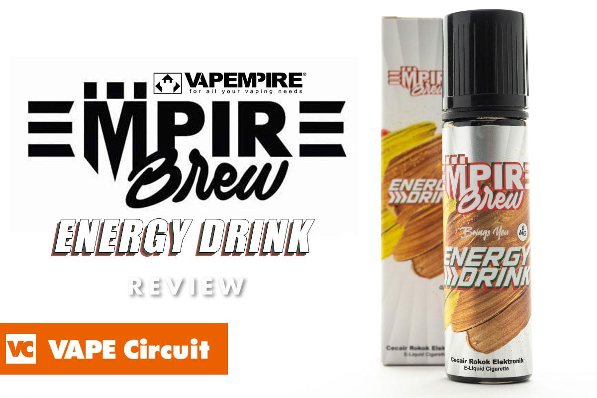 Empire brew Energy drink(エンパイアブリュー エナジードリンク)レビュー