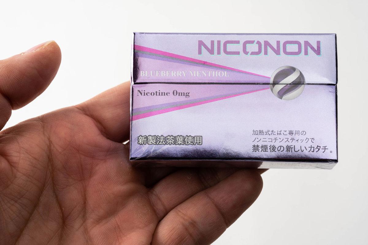 NICONON ニコノン Blueberry Menthol ブルーベリーメンソール