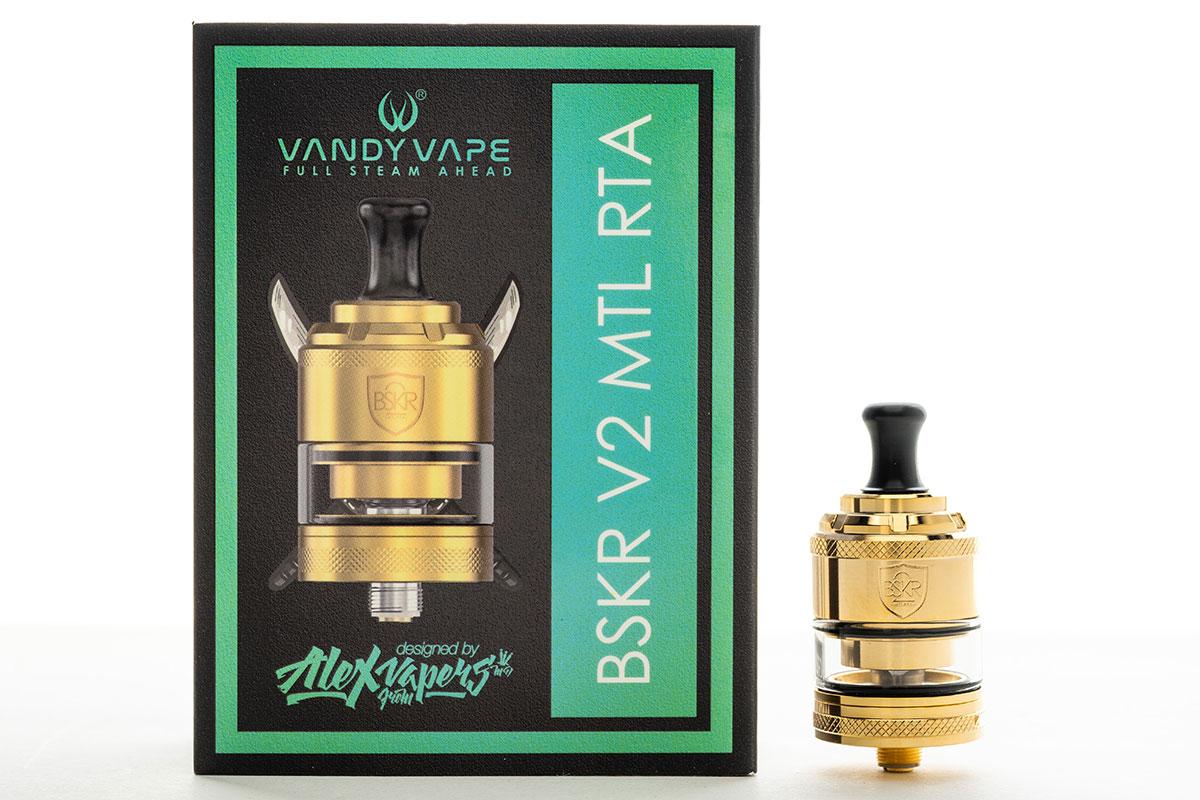 Vandy Vape BERSERKER V2 MTL RTA(バンディーベイプ バーサーカー・バージョン2・エムティーエル・タンク)レビュー|