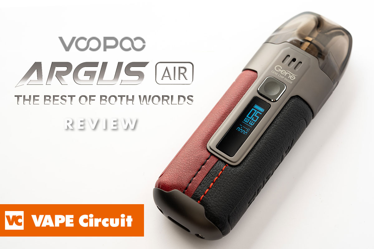 VOOPOO ARGUS AIR(ブープー アーガスエアー)レビュー