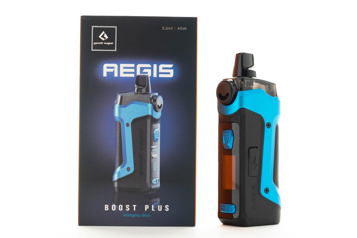 geekvape AEGIS BOOST PLUS(ギークベイプ イージスブーストプラス)レビュー