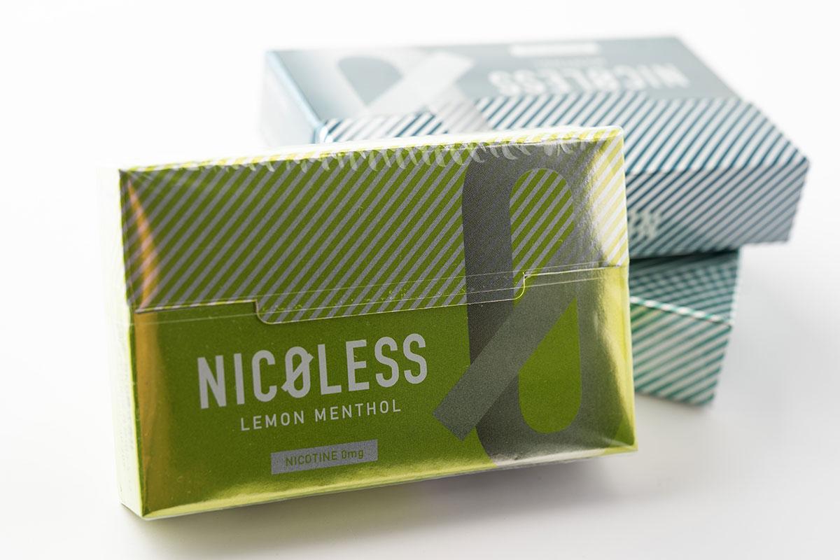 NICOLESS LEMON MENTHOL(ニコレス レモンメンソール)レビュー