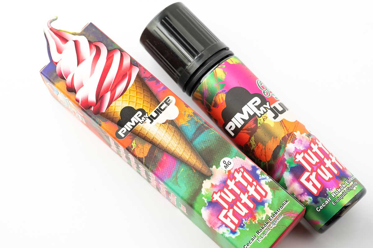 Pimp my Juice Tutti Frutti(ピンプマイジュース トゥッティーフルッティー)レビュー