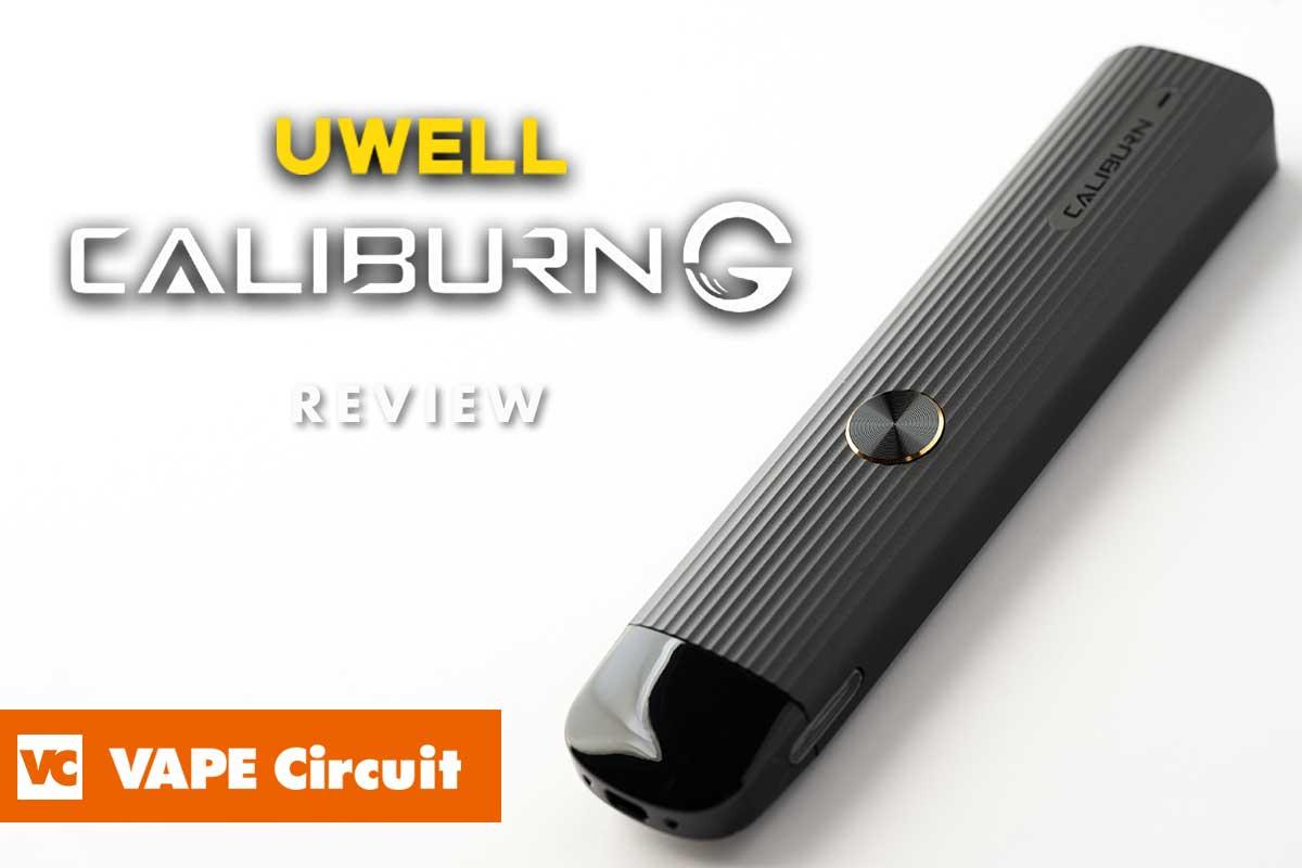 Uwell Caliburn G(ユーウェル カリバーン・ジー)レビュー