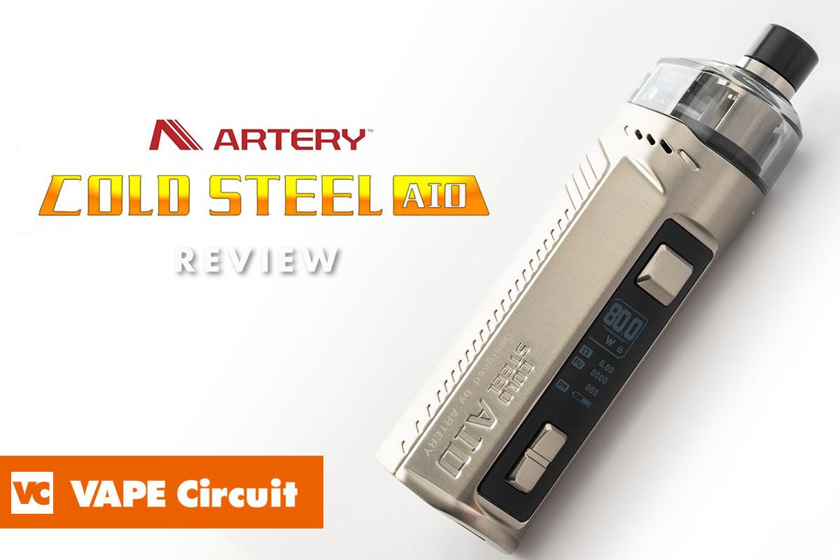 Artery Cold Steel AIO(アーテリー コールドスチール エーアイオー )レビュー