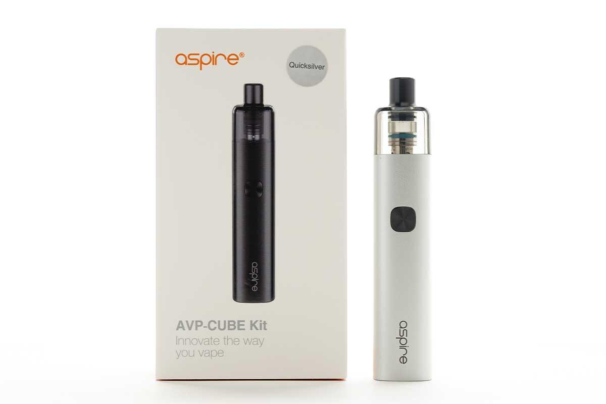 Aspire AVP-CUBE(アスパイア エーブイピー キューブ)レビュー