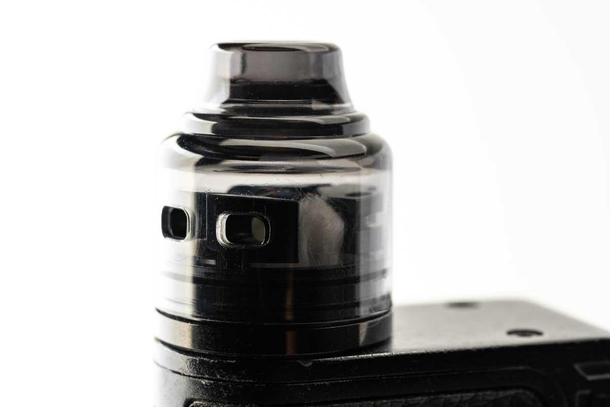 OUMIER Wasp Nano S dual-coil RDA(オウミアー ワスプ ナノ エス デュアルコイル ドリッパー)レビュー