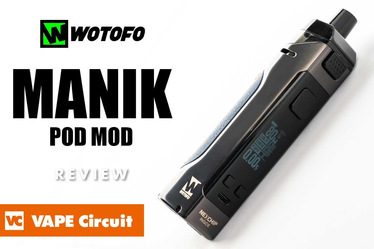 Wotofo MANIK(ウォトフォ マニック)レビュー