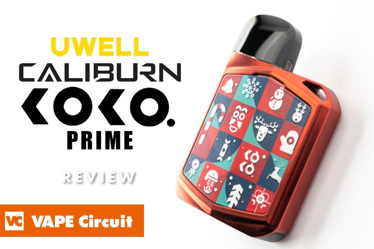 Uwell Caliburn KOKO Prime(ユーウェル カリバーンココプライム)レビュー